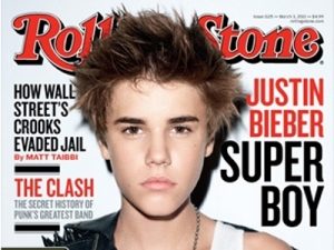 Justin Beiber Rolling Stone cover