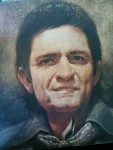 Johnny Cash in a thrifty store