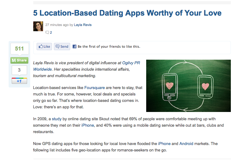 location-based dating